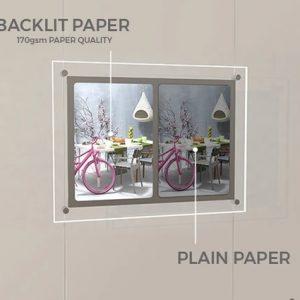 Backlit Paper and Film