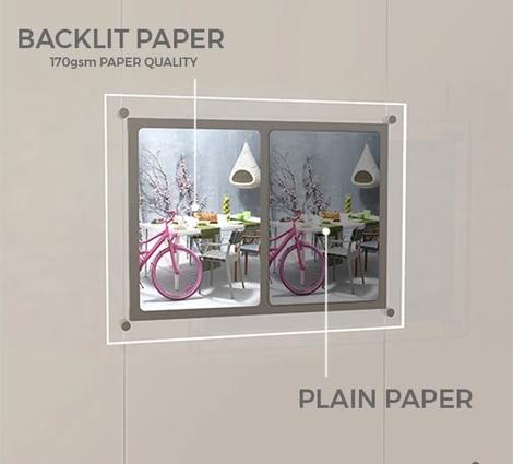 Backlit Paper / Film 1