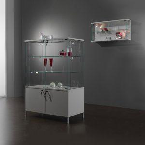 Kubica K92BM2A Low Height Display Storage Glass Cabinet
