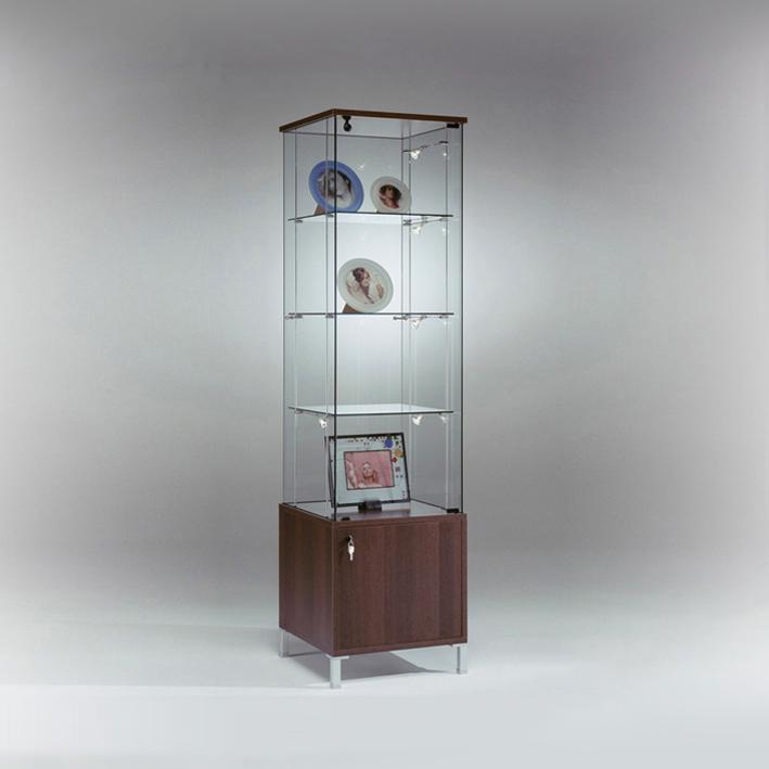 Kubica K48MA + MC5K Glass Display Storage Cabinet 1