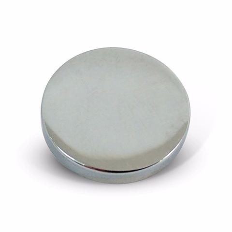 Mirror Screw Caps - Polished Chrome