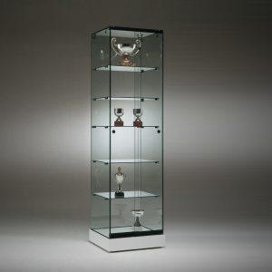 S5 Base Nova Trophy Frameless Glass Cabinet