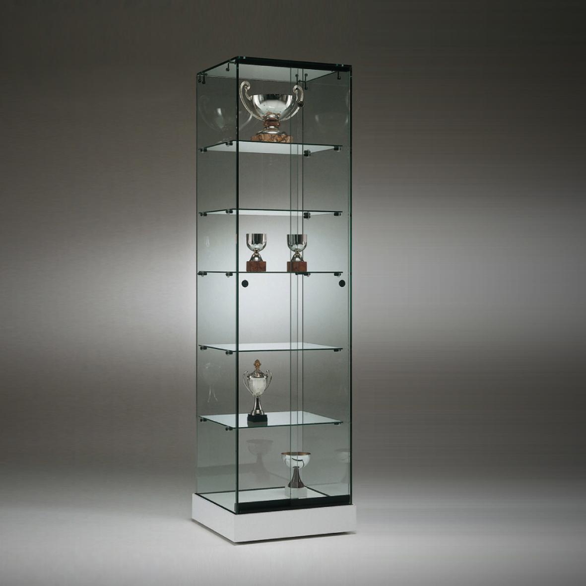S5 Base Nova Trophy Frameless Glass Cabinet 1
