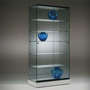S6 Base Nova Frameless Glass Display Cabinet Premium Showcase