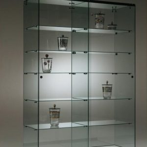 S7 Base Nova Double Glass Cabinet