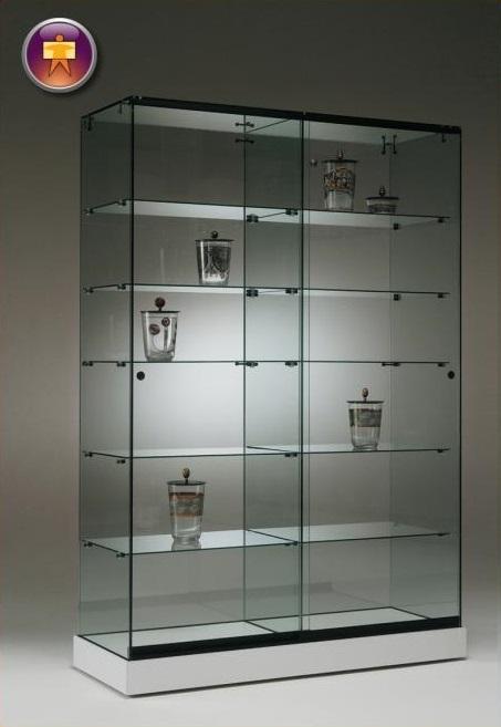S7 Base Nova Double Glass Cabinet 1