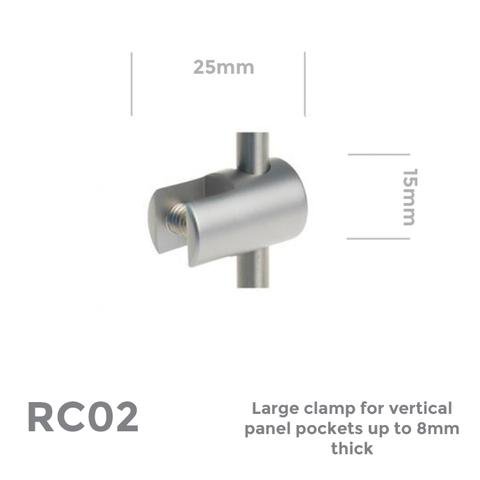 RC02 Vertical panel clamp