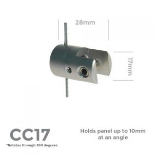 CC17 Rotating 10mm Panel Support