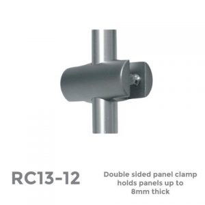 RC13-12 Double Sided Vertical Clamp