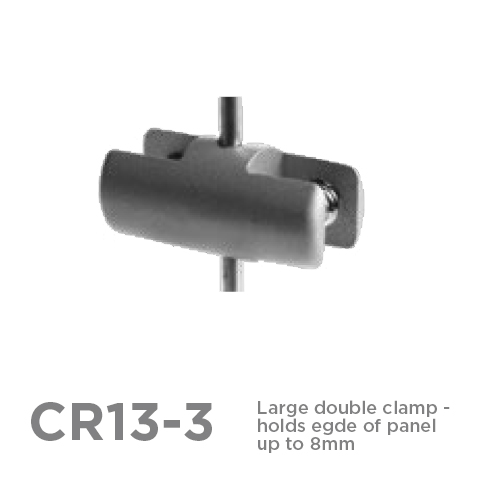 CR13-3 3mm Double Clamp 1